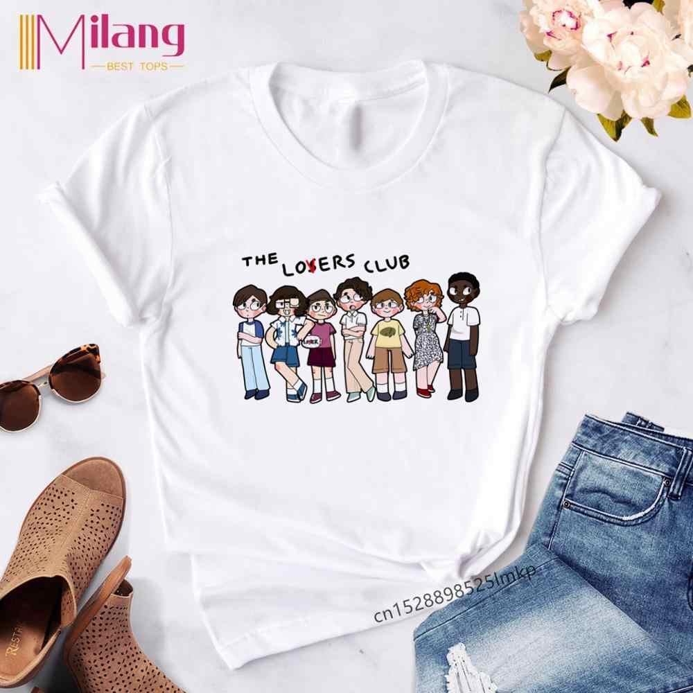 Винтажная Готическая летняя мягкая одежда для девочек с принтом Loser Lover, эстетическая футболка, футболки Harajuku с рисунком, Женская Клубная одежда