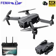 FEMA SG107 Wifi FPV with 4K Wide Angle Camera Mini Drone Foldable RC Quadcopter Auto Follow Hight Altitude Hold Dron Toys VS E58 jjr c jjrc t49 sol ultrathin wifi 720p camera fpv selfie drone auto foldable arm altitude hold rc quadcopter vs h37 h47 e57