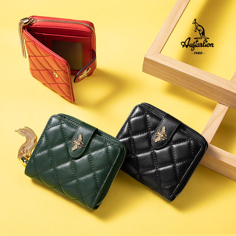 2020 AUGTARLION Multi-functional Wallet Women Small Luxury Brand Famous Mini Women Wallets Purses Female Short Coin Zipper Purse