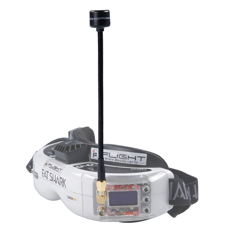 IFlight 5.8GHz SMA RP-SMA RHCP FPV antenne 15CM 2.0Dbi Gain pour bricolage FPV course Drone quadrirotor