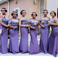 Satin Dress Lace Mermaid New Stretch Strapless Custom Bateau Applique