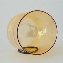 Космический светильник TOPFUND Прозрачный Кварцевый Поющая чаша 6 ''CDEFGAB