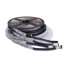 LED Strip light 12 v Waterproof 5050 SMD 5M 12V LEDStrip tape lamp RGB RGBW RGBWW Yellow Pink Ice Blue Diode Ribbon Fleible все цены