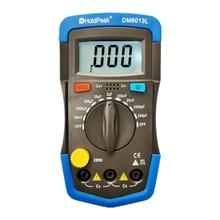 DM6013L Профессиональный цифровой измеритель емкости конденсатор с алюминиевой крышкой, 0-20mF портативные электронные постоянной ёмкости, унив...
