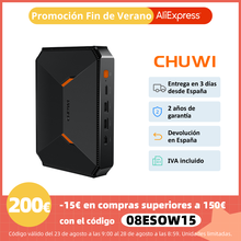 Mini PC CHUWI HeroBox, Intel Celeron N4100, 8GB RAM, 256GB SSD, Intel UHD 600, Windows 10, USB-C, USB 3.0, microSD, HDMI, LAN