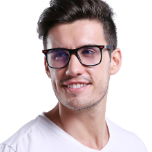 OUBR Trend brand computer optical glasses frame mens retro square anti-blue simple and comfortable