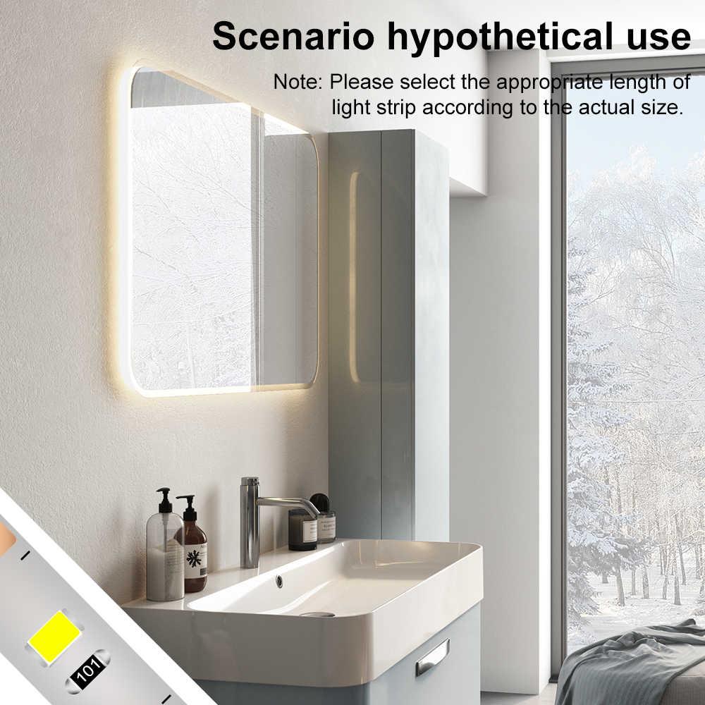 USB косметический зеркальный светильник DC 5V косметическое зеркало светодиодный туалетный зеркальный светильник для спальни складной водонепроницаемый гибкий декоративный настенный светильник