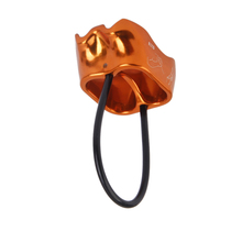 2pcs ATC Belay Rapel Device 25KN + Safety Helmet for Rappelling Rock Climbing Mountaineering Equipment Gear