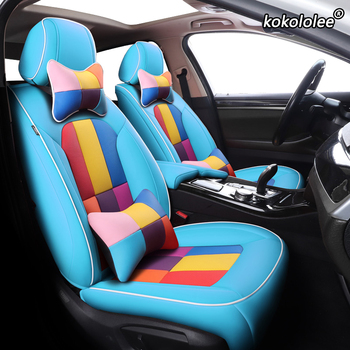 kokololee Custom Leather car seat cover set For GreatWall HAVAL F7 H9 H5 H6 H1 H2 H3 H8 H7 H2s M6 F5 H4 Automobiles Seat Covers