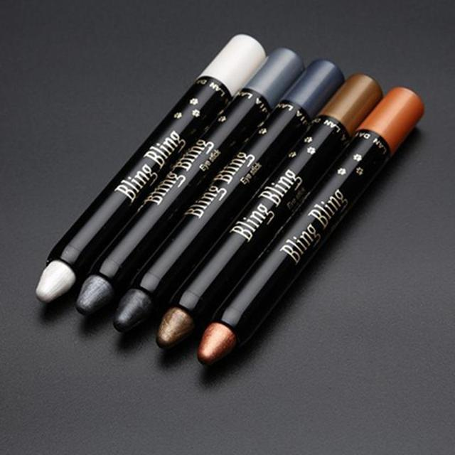 Eyeshadow Pen Pearly Luminous Highlighter Eye Lying Silkworm Pencil Professional Beauty Wholesale Eye Shadow Stick Beauty TSLM2 4