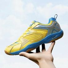 лучшая цена Professional Training Table Tennis Badminton Shoes women tennis shoes loubouton indoor shoes men  sports men shoes