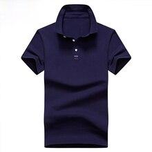 Nova camisa polo masculina sólida camisa polo masculina casual 95% algodão camisa homme 4xl plus size homens de negócios topos t