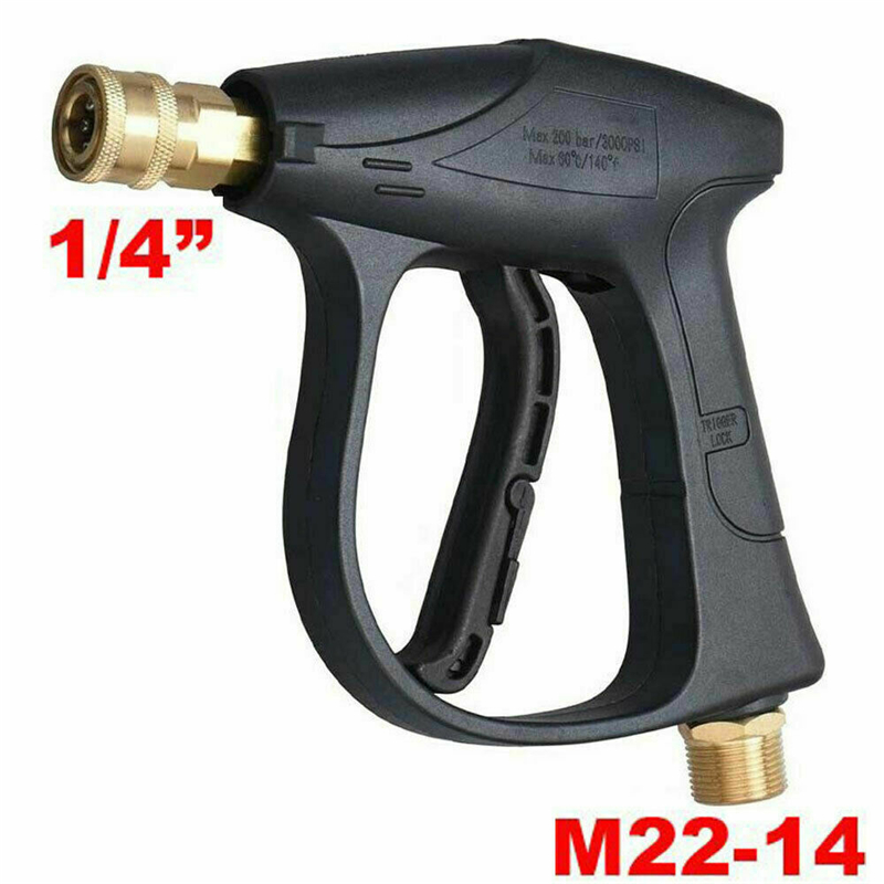 High Pressure Washer Gun Water Jet 3000 PSI Pressure Power Washers Car Clean 1/4 Quick Release For Car Washer Water Gun Tools