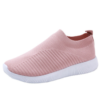 Women's Outdoor Mesh Shoes Casual Non-slip Comfortable Flat Running Sneaker Cover Penetrating Low-top Shoes 7