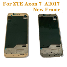 NEW for ZTE Axon 7 A2017 full body outer middle front frame replacement for ZTE Axon 7 A2017 A2017U A2017G mobile phone frame