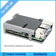 Raspberry Pi 4 пассивный корпус для охлаждения, Pi 4B Броня корпус из алюминиевого сплава/металлический корпус тепловыделение для Pi 4 Модель B