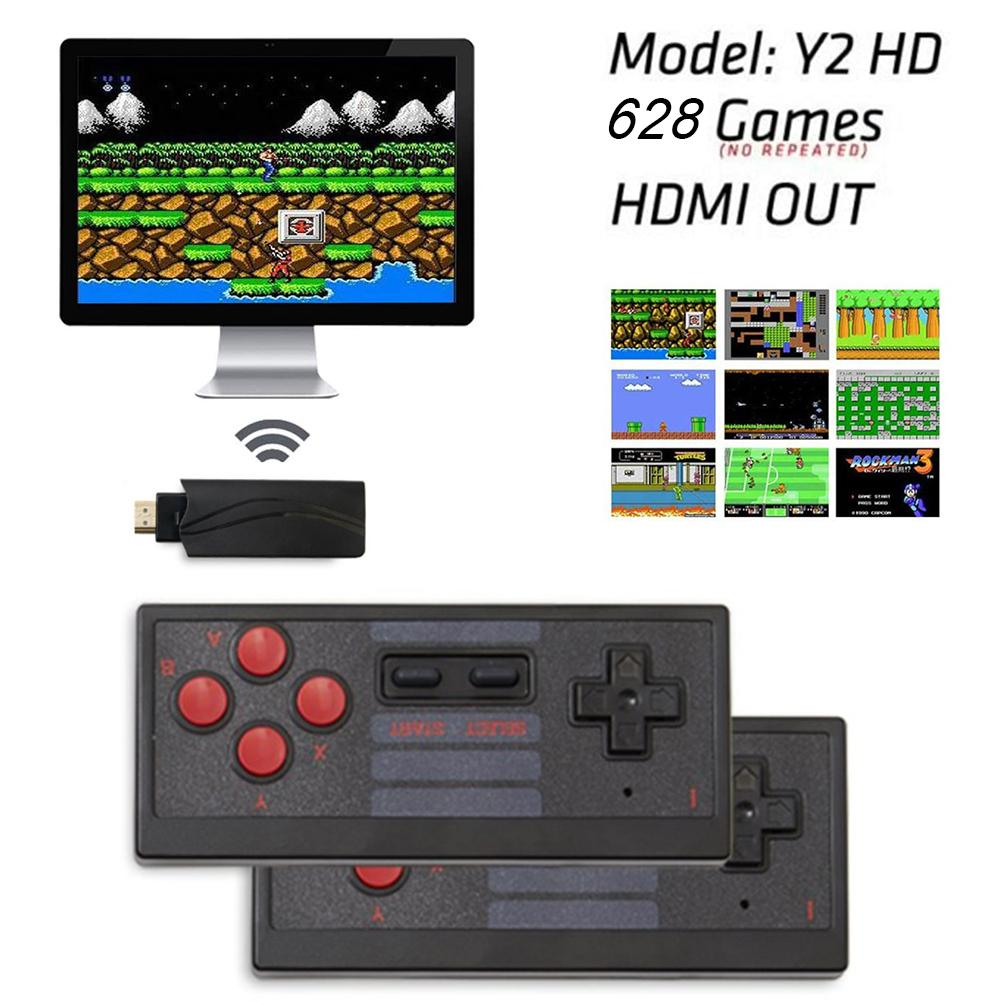 2020 New Handheld Game Console Childhood Retro Mini Classic 4K TV AV HDMI 8 Bit 628 Video Game Console Handheld Gaming Player