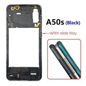 Image 3 - 10PCS Middle Frame Plate Cover With Power Volume Side Button For Samsung Galaxy A20S A30S A50S A30 A70