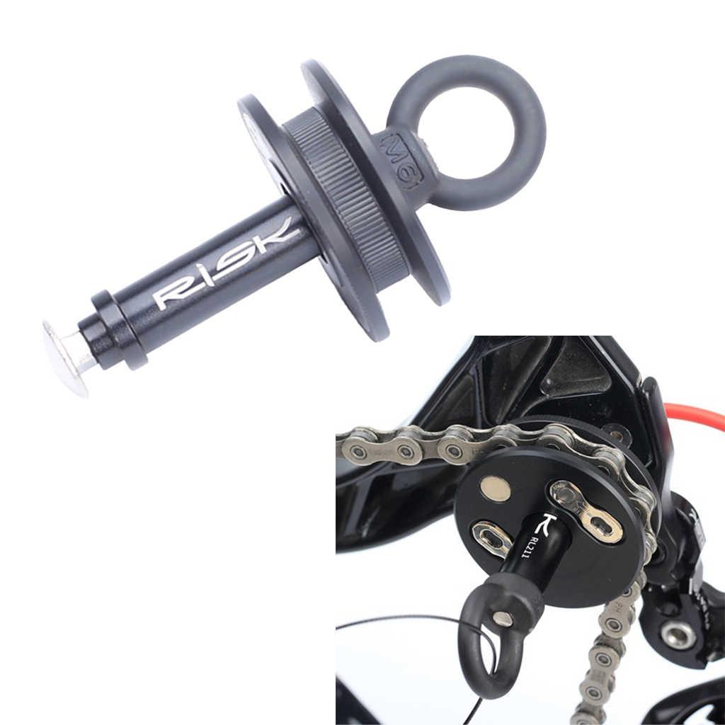 دراجة دمية محور الدراجة سلسلة حارس حامل من خلال المحور الإفراج السريع المحور