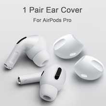 2pcs Earphone Case Cover for Airpods Pro Silicone Anti-Slip Soft Earbuds Eartips Cap forApple Airpods Pro 3 Accessories
