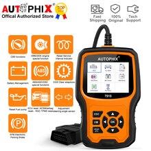 Autophix 7910 Auto Diagnostische Hulpmiddelen Voor Bmw Mini OBD2 Scanner Olie Sas Airbag Tpms Reset Alle Systeem Automotive Scanner Gratis update