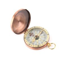 Pocket Watch Compass Marine Metal Boating Flip-Cover Nautical Copper Vintage Camping Hiking