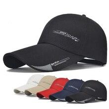 2021 ספורט כובע Mens כובע עבור דגים חיצוני אופנה קו בייסבול כובע מגן ארוך ברים צל Snapback שמש כובע עצם gorras Casquette