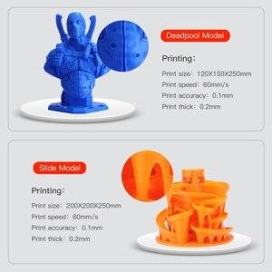 Image 5 - Anycubique i3 méga mise à niveau Mega X 300*300*305mm imprimante 3d grande taille dimpression Meanwell alimentation Ultrabase impresora 3d