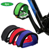 2pc Bike Pedal Straps Pedal Toe Clips Strap Tape for Fixed Gear Bike Bicycle Feet Straps Adhesive Pedal Tape Toe Clip Strap Belt