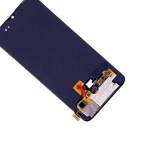 Image 4 - עבור Oneplus 6T LCD AMOLED LCD תצוגת מסך מגע Digitizer עצרת עבור Oneplus תצוגה מקורי