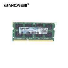 Computador, ankowall ddr3 2gb gb 8 4gb ddr3l memória ram notebook laptop 1866 1600 1333 mhz sodimm 204pin 1.5v/1.35v