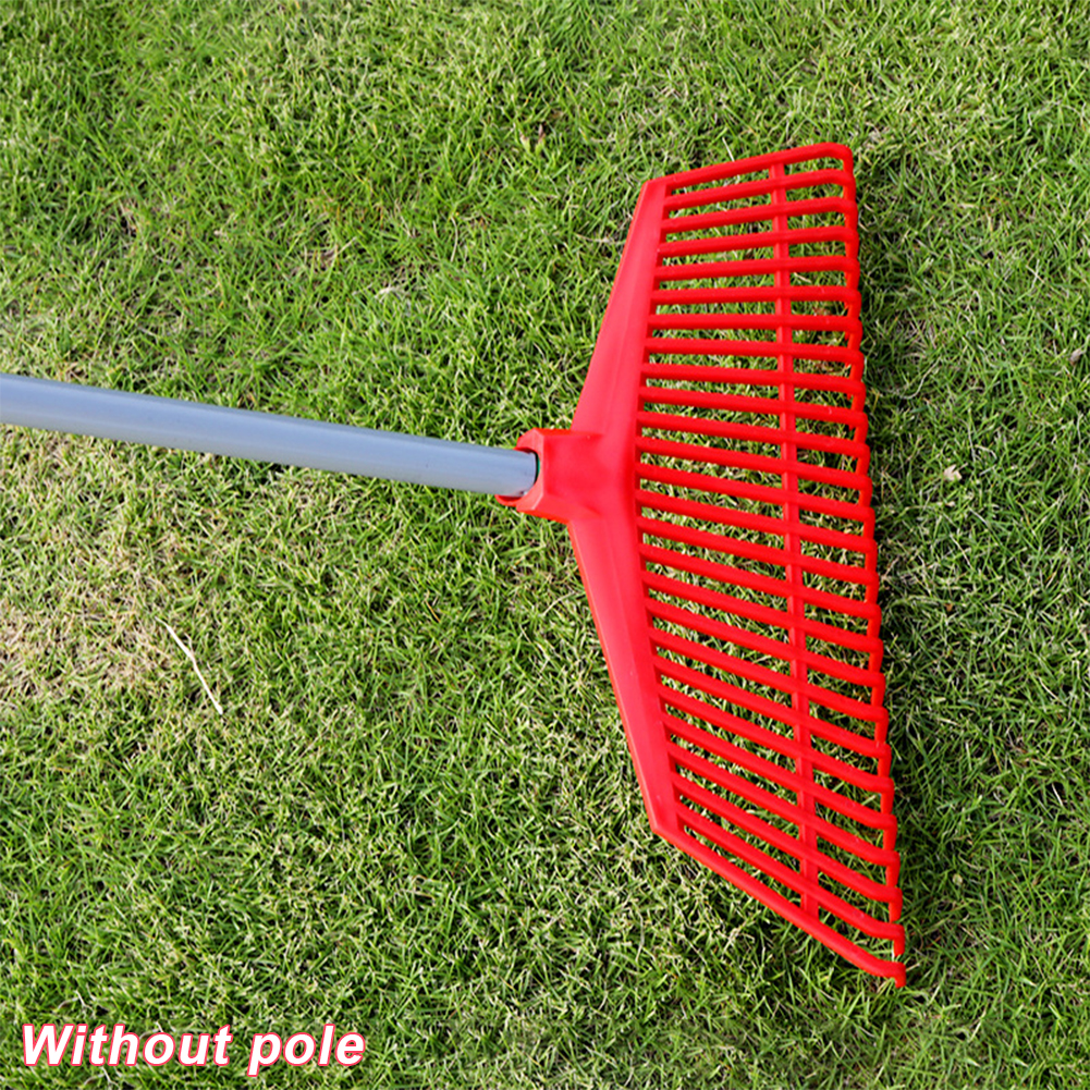 Gardening Tools Odorless Non-toxic Replacement Loose Soil 26 Teeth Plastic Agricultural Courtyard Cleaning Portable Grass Rake
