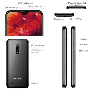 Image 3 - Ulefone Note 8P 4G Di Động Android 10 5.5 Inch GB RAM 16GB MT6737 Quad Core 8MP 2700MAh Mặt Mở Khóa Dual SIM Điện Thoại Thông Minh Toàn Cầu
