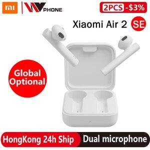 Xiaomi Air 2 SE TWS True Беспроводные стерео Bluetooth наушники Mi AirDots Pro 2SE синхронная связь сенсорное управление наушники двойной микрофон
