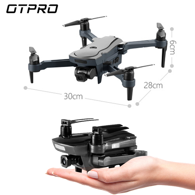 OTPRO (Export) mini Drone GPS 4K HD 1080P Camera Follow Me Quadcopter Auto Return FPV Dron Wifi RC Quadrocopter VS F11 RPO H117S X9 K1