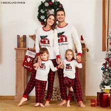 Family Christmas Pajamas 2020 Xmas Family Matching Pyjamas Set Clothes Mother Da