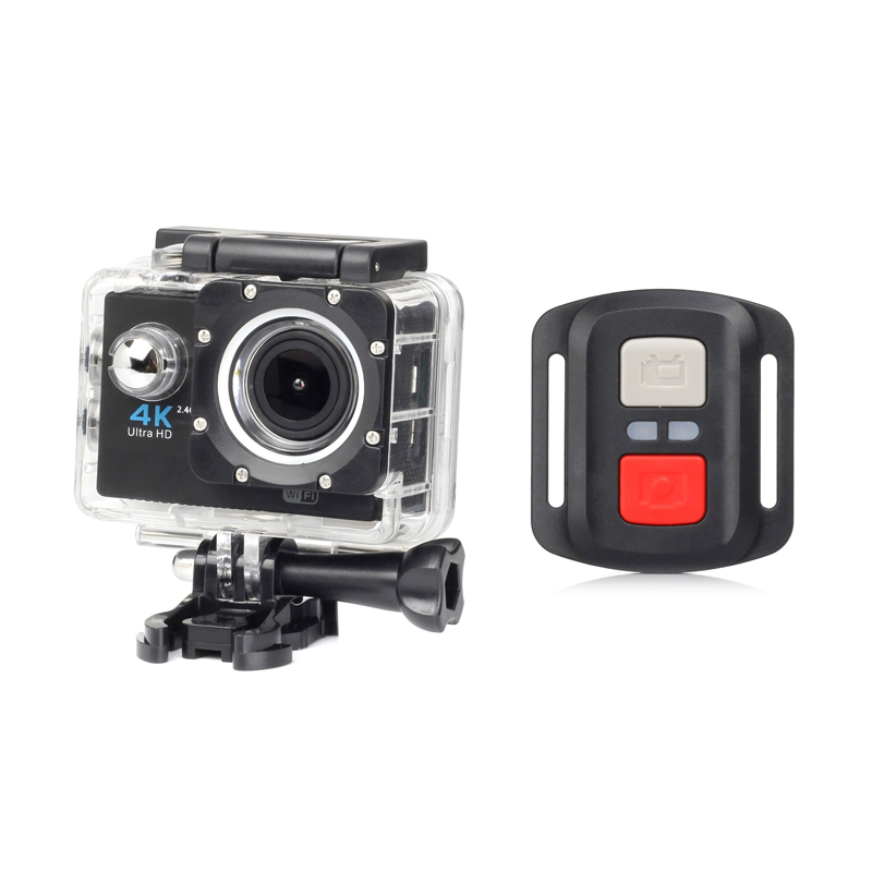 F60r Outdoor 4k Sports Camera Sports DV Camera Camcorder Waterproof WIFI H16R With Remote Controller