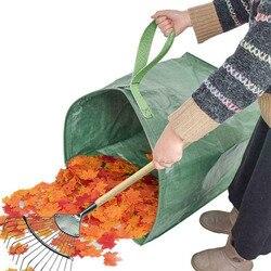 Ogród liście kosz składany duża pojemność Jumbo na śmieci worek na śmieci AUG889|Worki na śmieci|Dom i ogród -