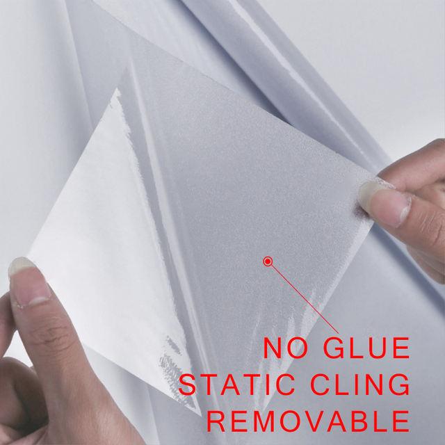 Vinyl Glass Label for Office, Decorative Glass Film
