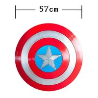 57 cm Captain America Shield 1:1 Cosplay Avengers Perfect version Steve Rogers armor costume prop accessories Wall decoration