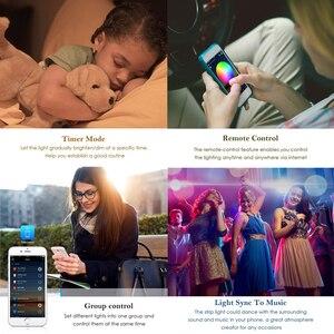 Image 4 - 5050 LED 스트립 WIFI RGB RGBW RGBWW 5M 10M 15M RGB Led 색상 변경 가능한 유연한 LED 스트립 빛 + WIFI 원격 컨트롤러 + 전원