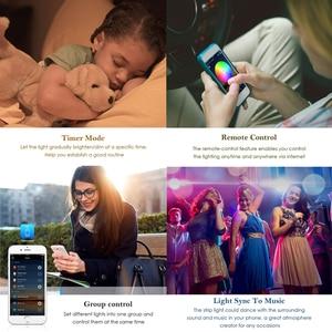 Image 4 - Светодиодная лента 5050 RGB RGBW RGBWW, 5 м, 10 м, 15 м, изменяемый цвет, гибкая светодиодная лента, светильник + Wi Fi пульт дистанционного управления + питание
