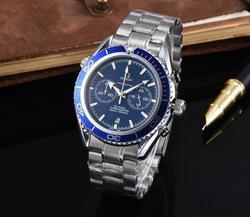 Мужские часы от ведущего бренда, роскошные часы, мужские кварцевые Стальные армейские военные часы, мужские деловые наручные часы 314