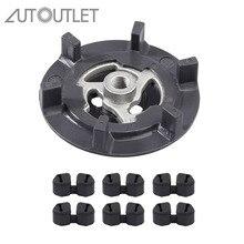 AUTOUTLET для компрессора кондиционера для 5SL12C 5SEL12C диск сцепления для AUDI 1K0820859N