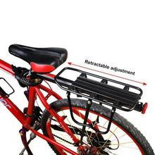 Bike Rack Aluminum Alloy 50KG Luggage Rear Carrier Trunk for Bicycles MTB Bike Rear Shelf Bicycle Racks Bicycle Accessories недорого