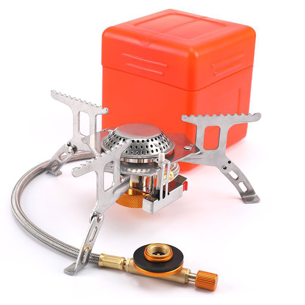 Widesea Outdoor Gas Stove Camping Gas Burner Folding Electronic Stove Hiking Portable Foldable Split Stoves 3500W For Picnic|Outdoor Stoves| - AliExpress