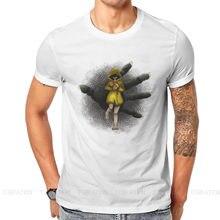 Correndo fora da moda tshirts pequenos pesadelos seis nomes runaway jogo criança homem harajuku tecido streetwear t camisa o pescoço grande tamanho