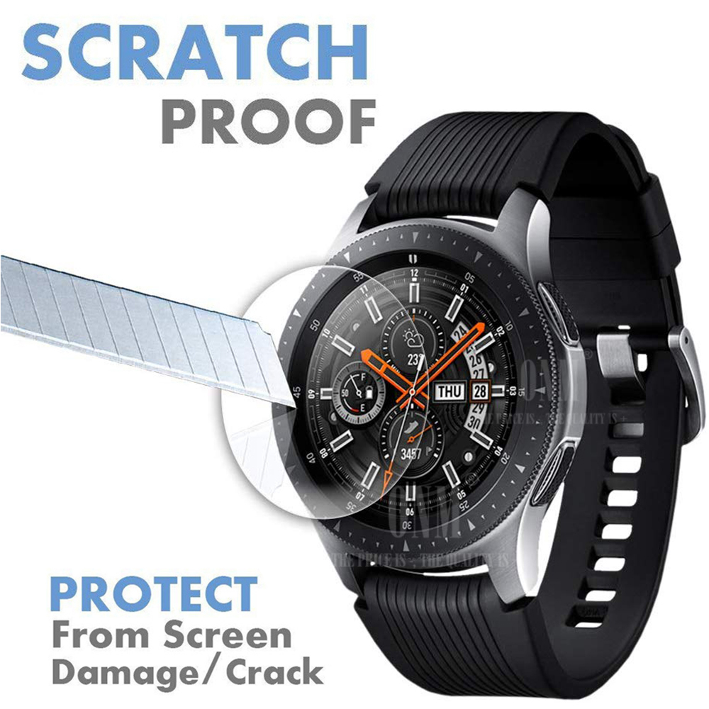 9H Tempered Glass For Samsung Gear S3 S4 S2 Classic Screen Protector For Samsung Galaxy Watch 42mm 46mm Film Accessories
