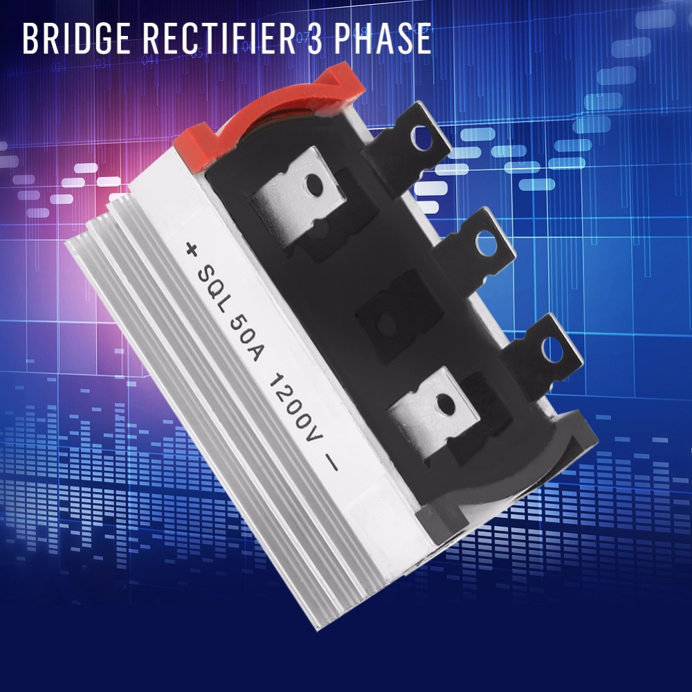 40x puente rectificador trifásico de Diodo 50 a Amp 1000 V sql50a