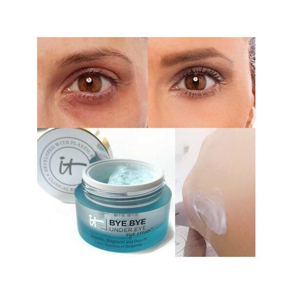 Eye Cream It Cosmetics BYE BYE UNDER eyes Moisturizing Makeup Base Cream Eyes Make Up Skin Brighten Eye Concealer 2